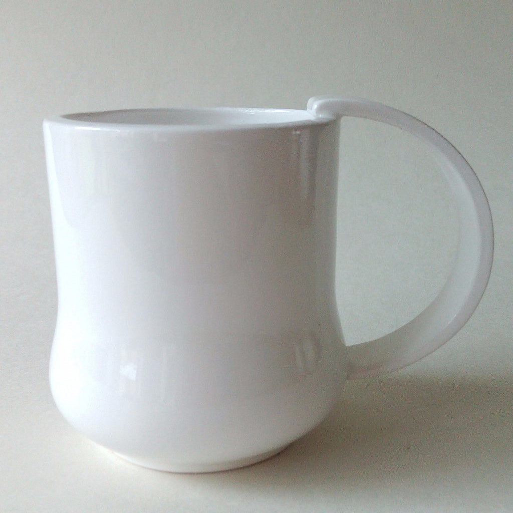 Fine bone china espresso cup. Handmade in the UK