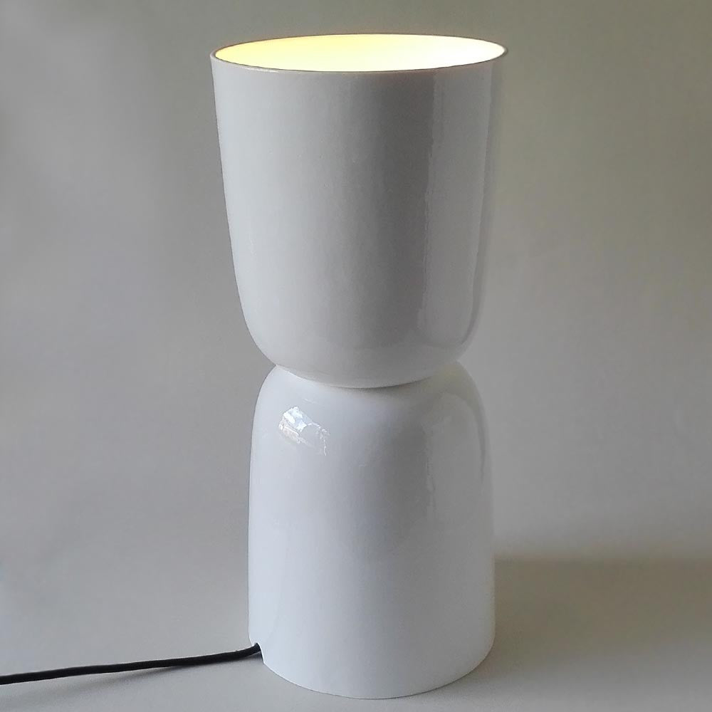 Fine bona china lamp. Handmade in the UK