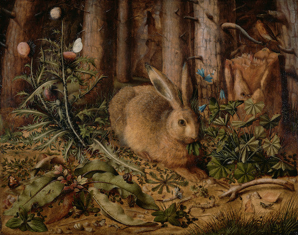 Hans Hoffmann, A Hare in the Forest