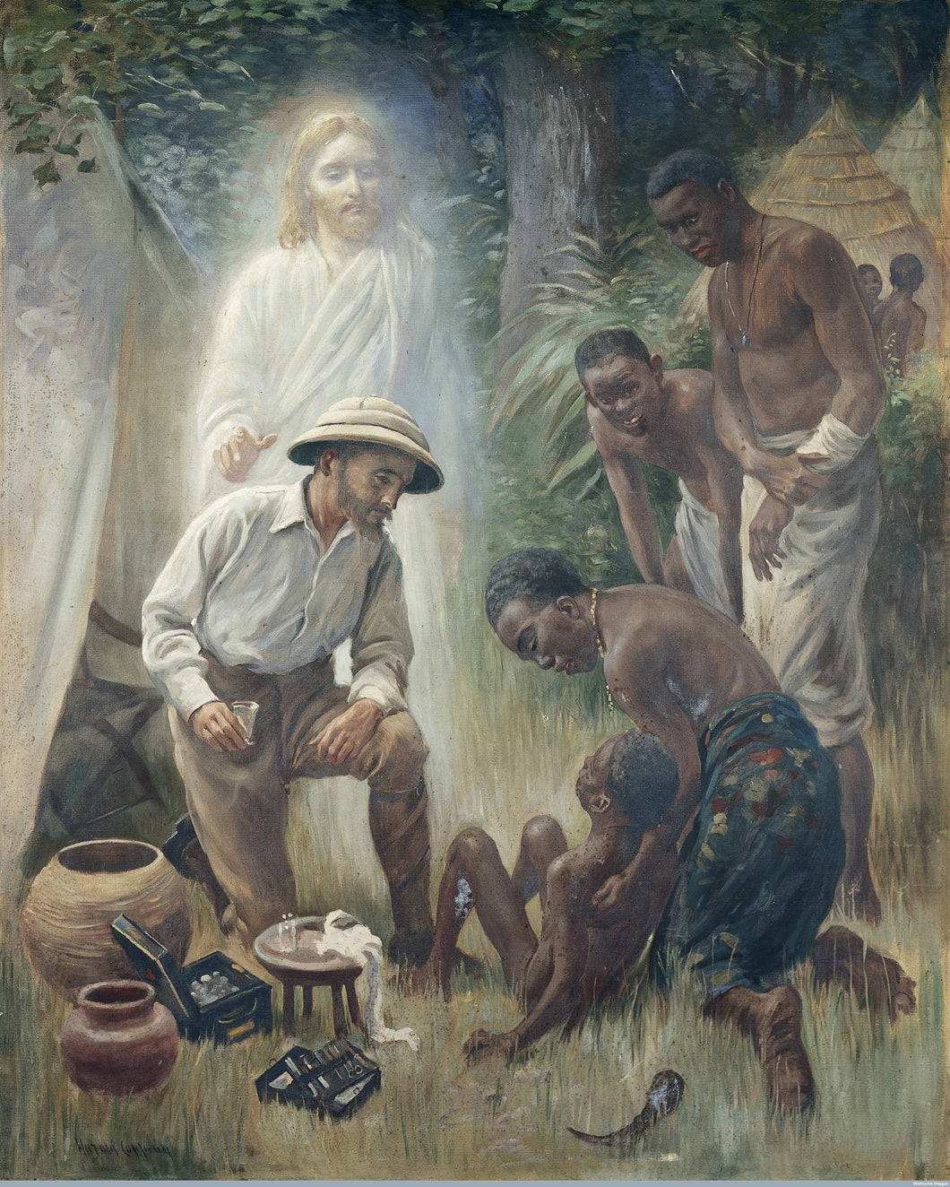 Harold Clopping, A Medical Missionary
