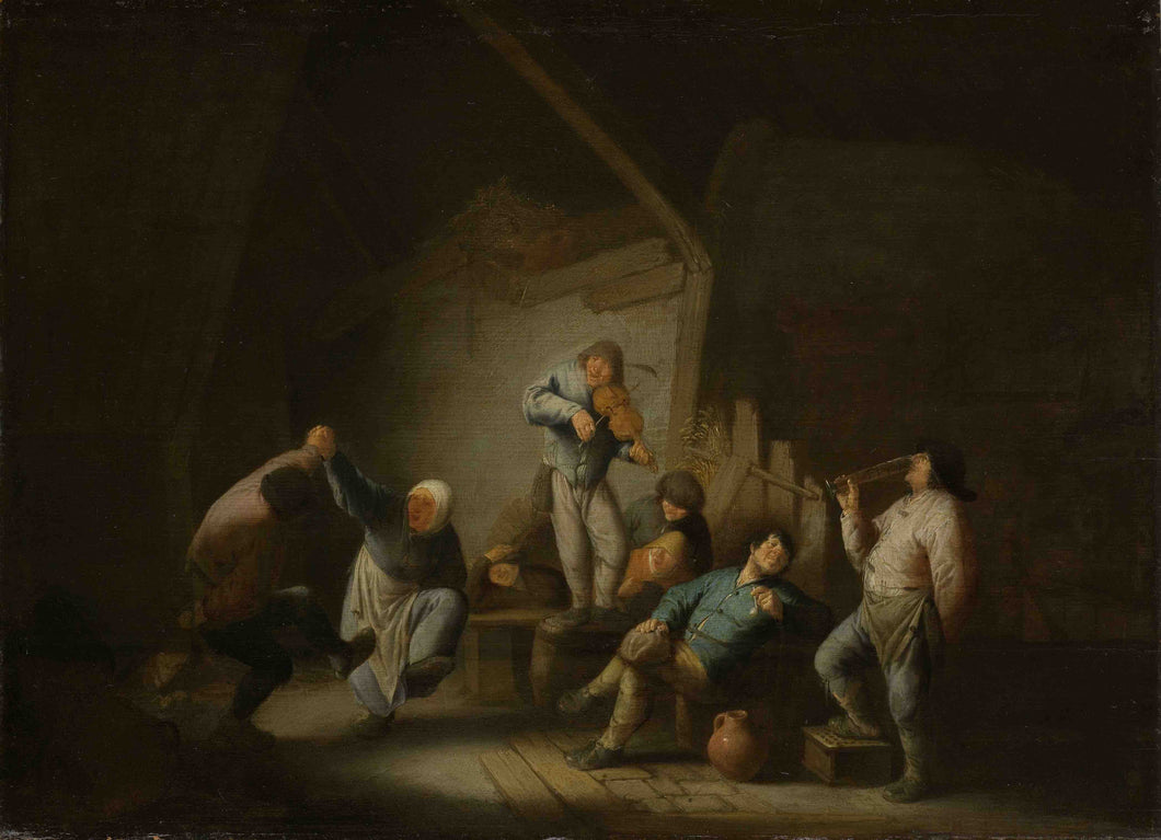 Adriaen van Ostade, Dancing couple