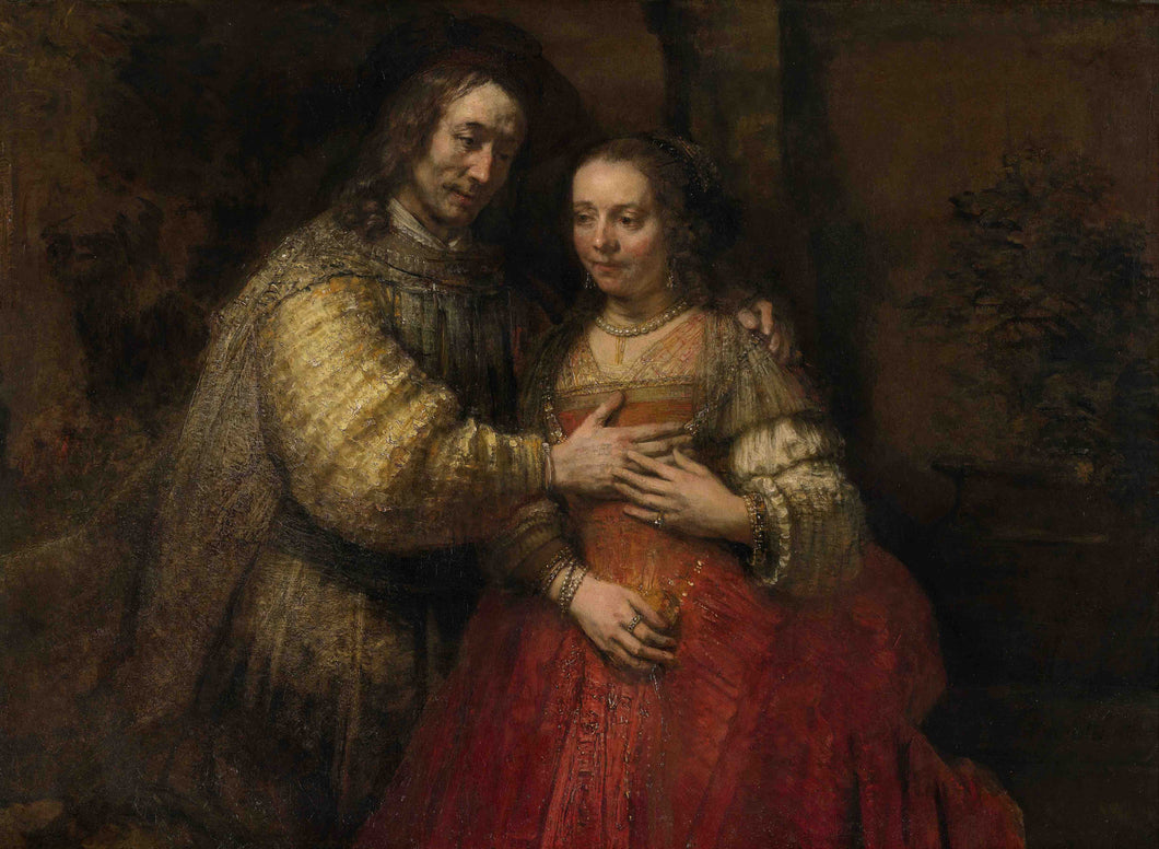 Rembrandt, Portrait of a Couple as Isaac and Rebecca