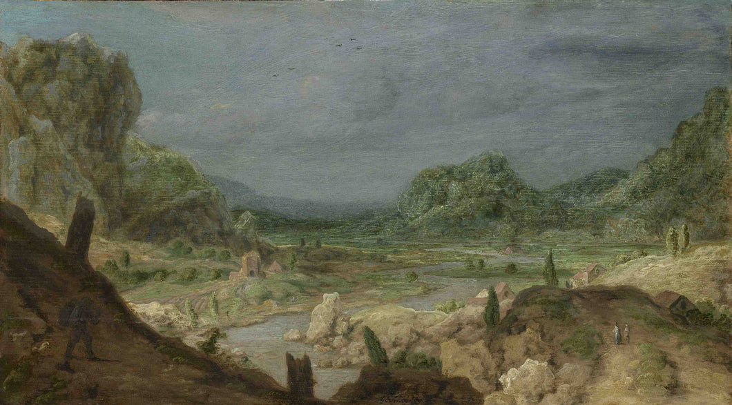 Hercules Segers, River Valley, c1626-1630