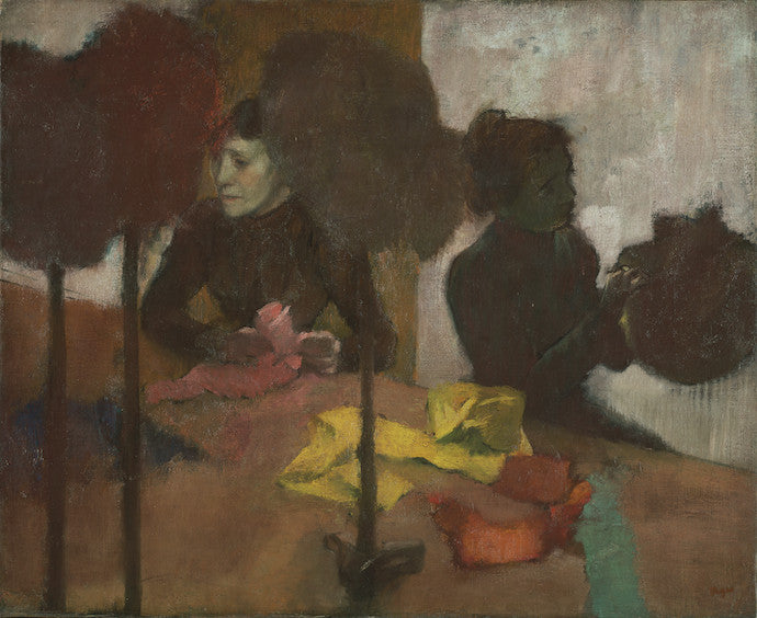 Edgar Degas, The Milliners