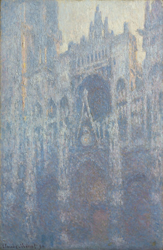 Claude Monet, The Portal of Rouen Cathedral in Morning Light