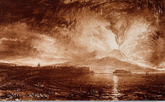 Joseph Mallord William Turner, Vesuvius in Eruption