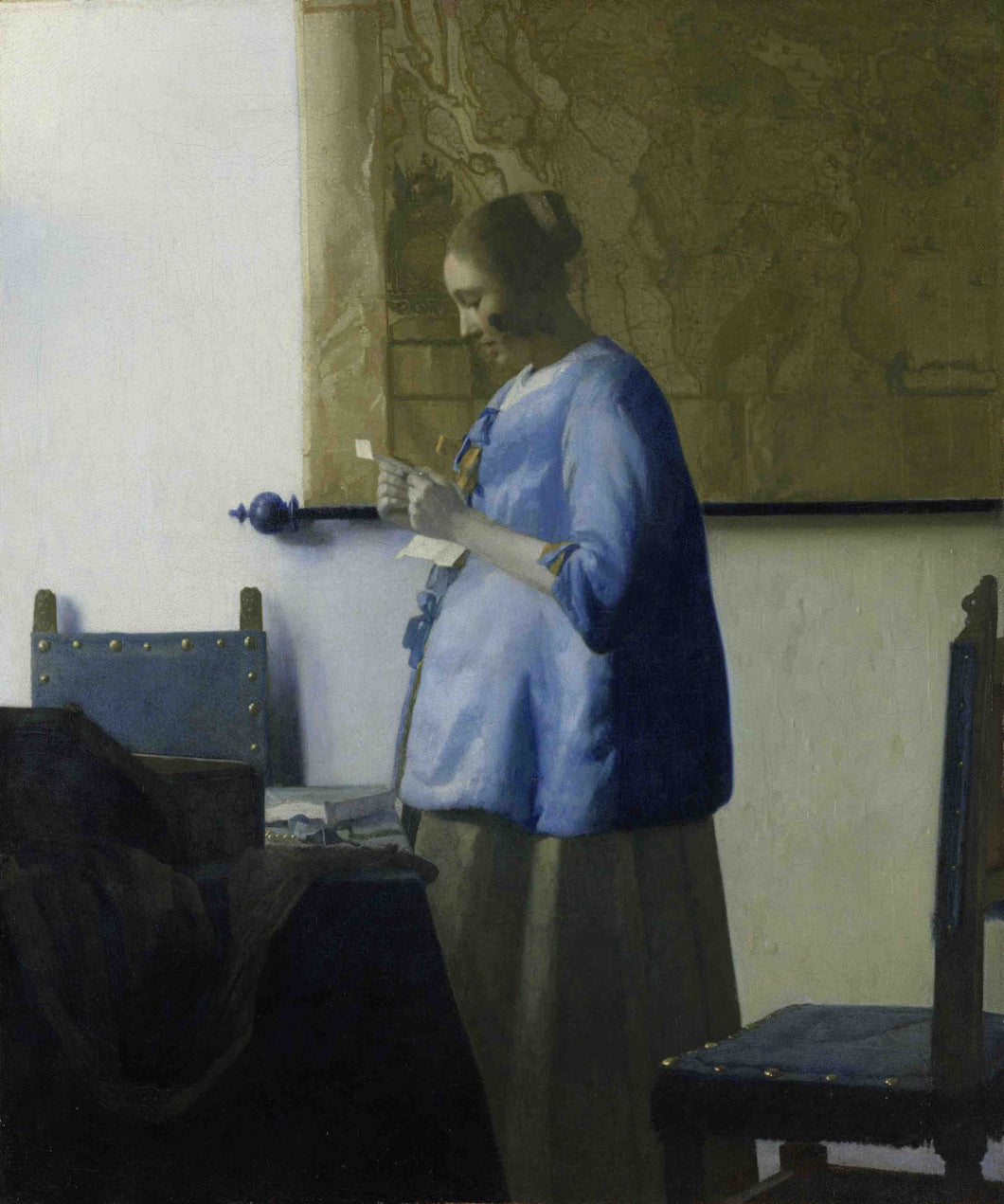 Johannes Vermeer, Woman Reading a Letter
