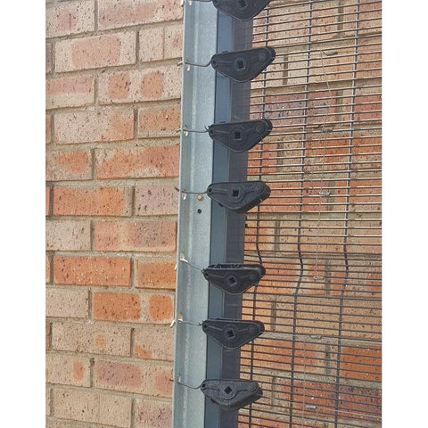 Angle Iron Pre punched Corners Brackets - HD Galv 40x40x3mm