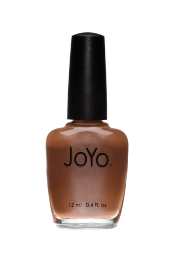 brown nail polish - Caramel Wish by JoYo
