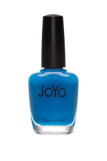 blue nail polish - Caribbean Blue by JoYo