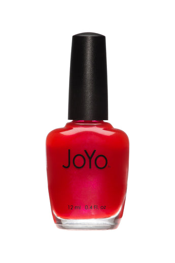 red nail polish - Flair by JoYo