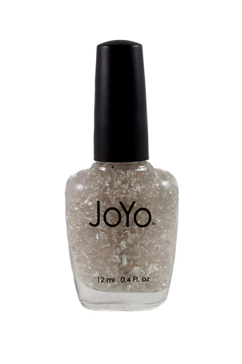 silver nail polish - Silver Bliss by JoYo