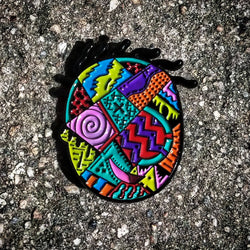 Areh Doug Funnie Abstract Limited Edition Original Art Pin - The Mad Genius Store