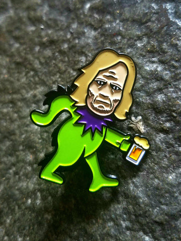 Shameless Frank Gallagher Dancing Bears Mashup Hatpin - The Mad Genius Store