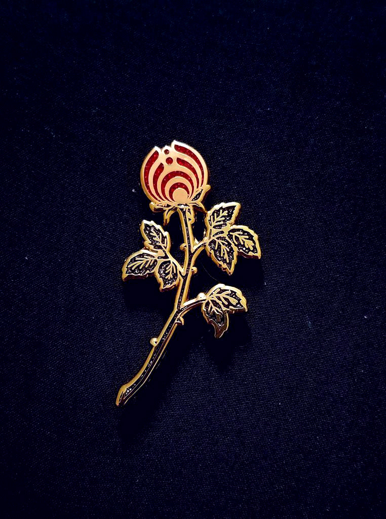 e9ed0332d44 The Dark Rosebud Nectar Flower Bassnectar Hat Pin – The Mad Genius Store