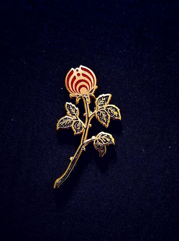 The Dark Rosebud Nectar Flower Bassnectar Hat Pin - The Mad Genius Store