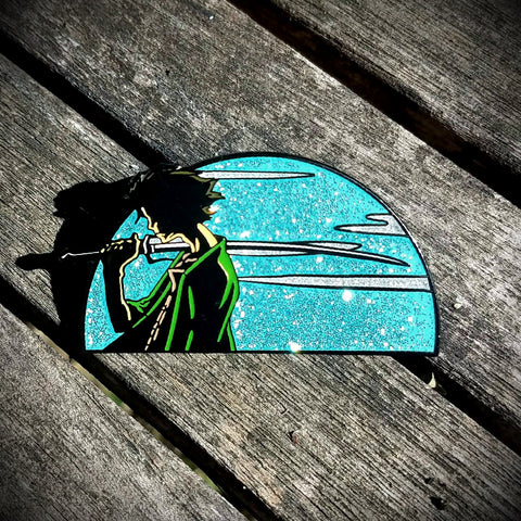 Samurai Champloo Mugen OE Anime Hatpin - The Mad Genius Store