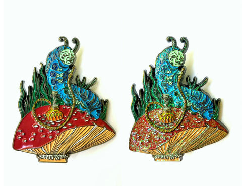 Amanita Toker - Absolem Hatpin Original Set of Two - The Mad Genius Store