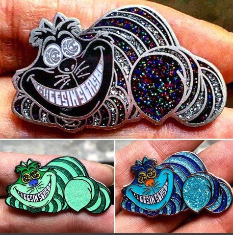 Pins - 3-Pack Of The New Cheesin' Seasons Cheshire Alice In Wonderland Cat String Cheese Incident Wholesale Hatpins