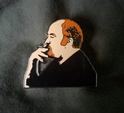 "Pins - Louie C.K. Spliff In Hand 1.5"" Hard Enamel Hat Pin"