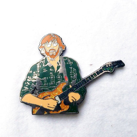 "OG ""The Trey Face V2"" Phish Trey Anastasio Guitar Hard Enamel Hat Pin - The Mad Genius Store"
