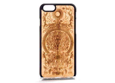 MMORE Wood Tree of Life Engraved Case Phone Cover - The Mad Genius Store