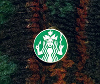 Starnugz Dab and Weed Parody Pin Coffee Starbucks Pin - The Mad Genius Store