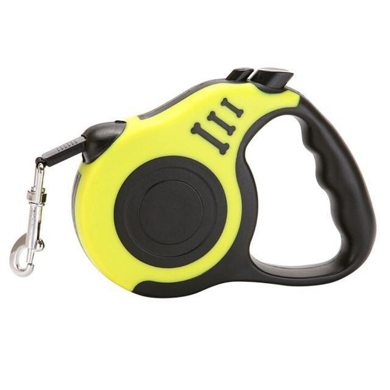 3M/5M Retractable Dog Leash Collars and Leads Oberlo YELLOW 10 ft
