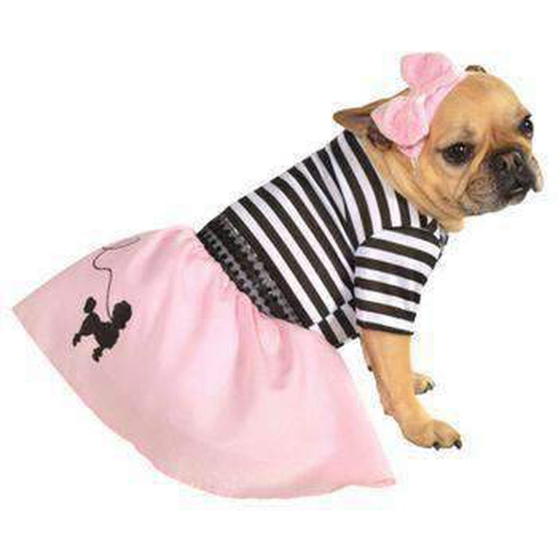 50's Girl Dog Halloween Costume, Pet Clothes, Furbabeez, [tag]