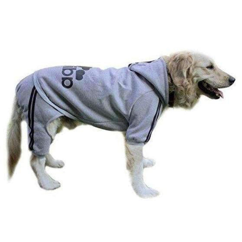 Adidog Dog Sweatsuit, Pet Clothes, Furbabeez, [tag]