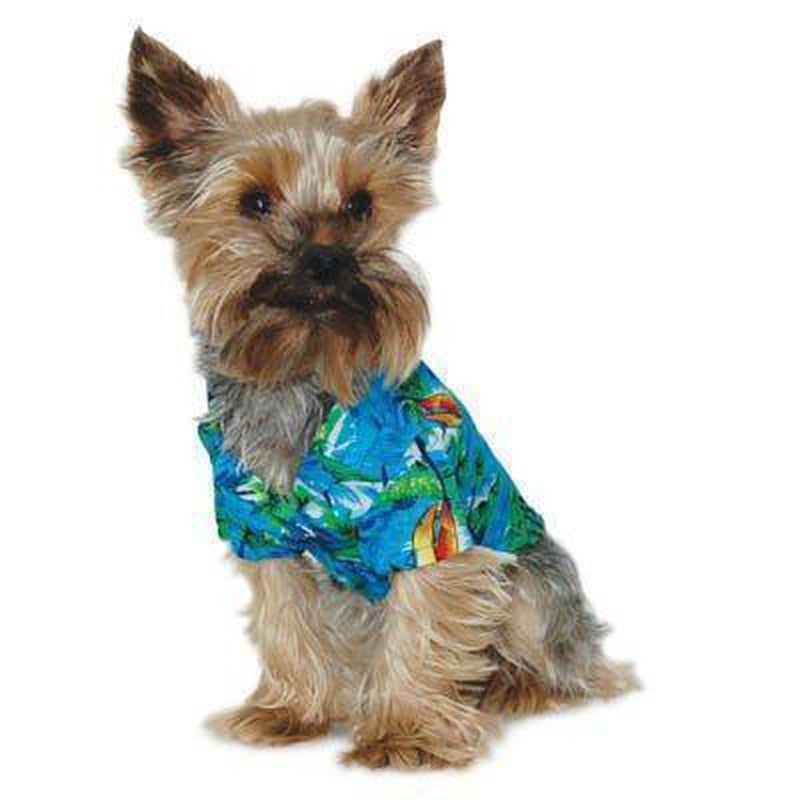 Aloha Dog Shirt, Pet Clothes, Furbabeez, [tag]