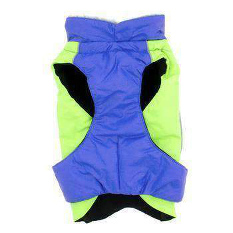 Alpine All-Weather Dog Coat - Blue and Green, Pet Clothes, Furbabeez, [tag]