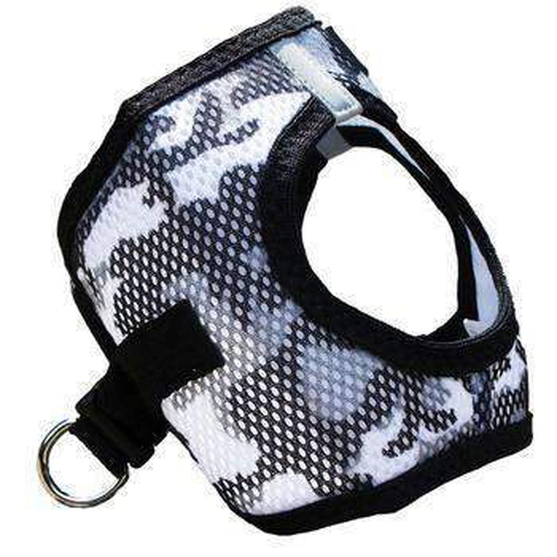 American River Camo Choke-Free Dog Harness - Gray, Collars and Leads, Furbabeez, [tag]