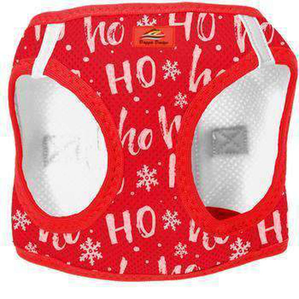 American River Choke Free Dog Harness Holiday Line - HO HO HO, Collars and Leads, Furbabeez, [tag]