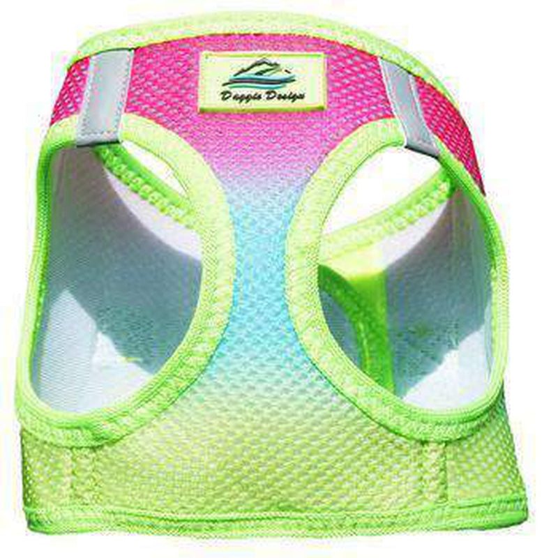 American River Choke-Free Dog Harness - Rainbow Ombre, Collars and Leads, Furbabeez, [tag]