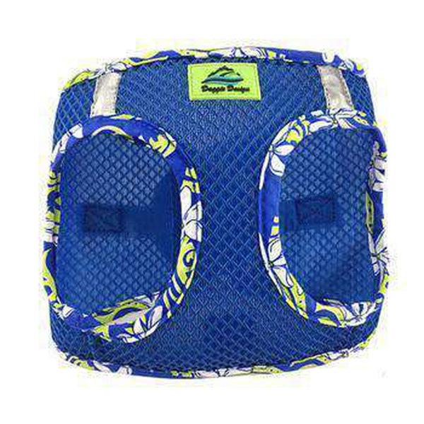 American River Hawaiian Trim Choke-Free Dog Harness - Cobalt Blue, Collars and Leads, Furbabeez, [tag]
