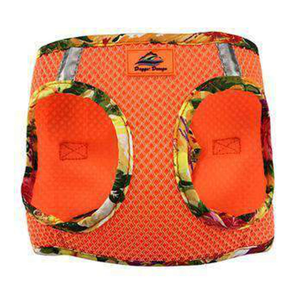 American River Hawaiian Trim Choke-Free Dog Harness - Sunset Orange, Collars and Leads, Furbabeez, [tag]