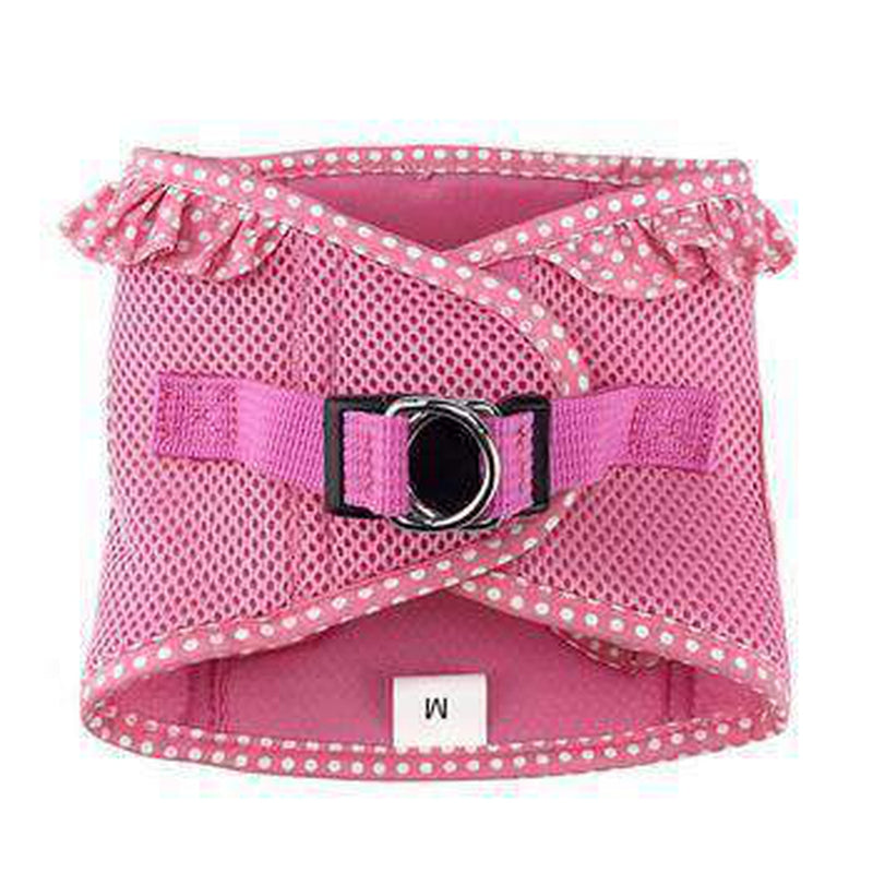 American River Choke-Free Dog Harness - Pink Polka Dot, Collars and Leads, Furbabeez, [tag]