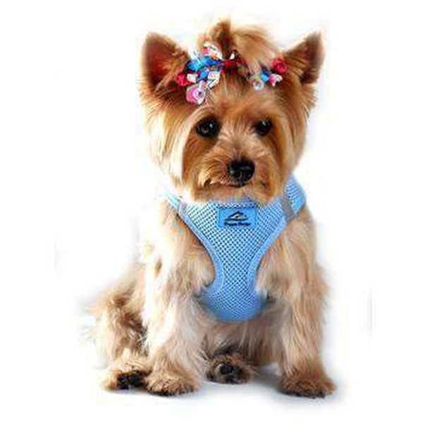 American River Ultra Choke-Free Mesh Dog Harness - Light Blue, Collars and Leads, Furbabeez, [tag]