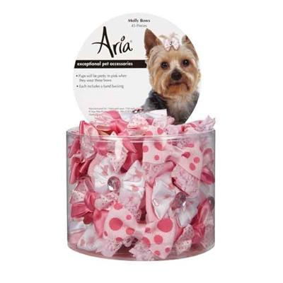 Aria Molly Dog Bows Pet Accessories Aria