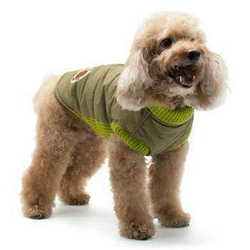 Army Runner Dog Coat by Dogo, Pet Clothes, Furbabeez, [tag]