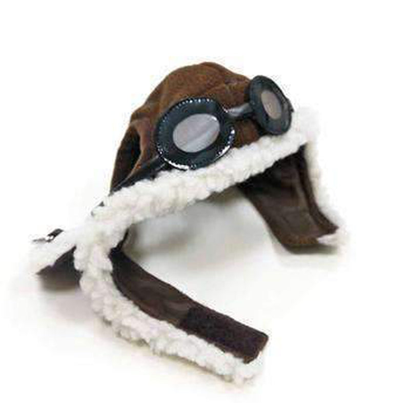 Aviator Dog Hat by Dogo - Brown, Pet Accessories, Furbabeez, [tag]