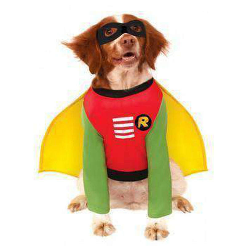 Batman's Robin Dog Halloween Costume, Pet Clothes, Furbabeez, [tag]