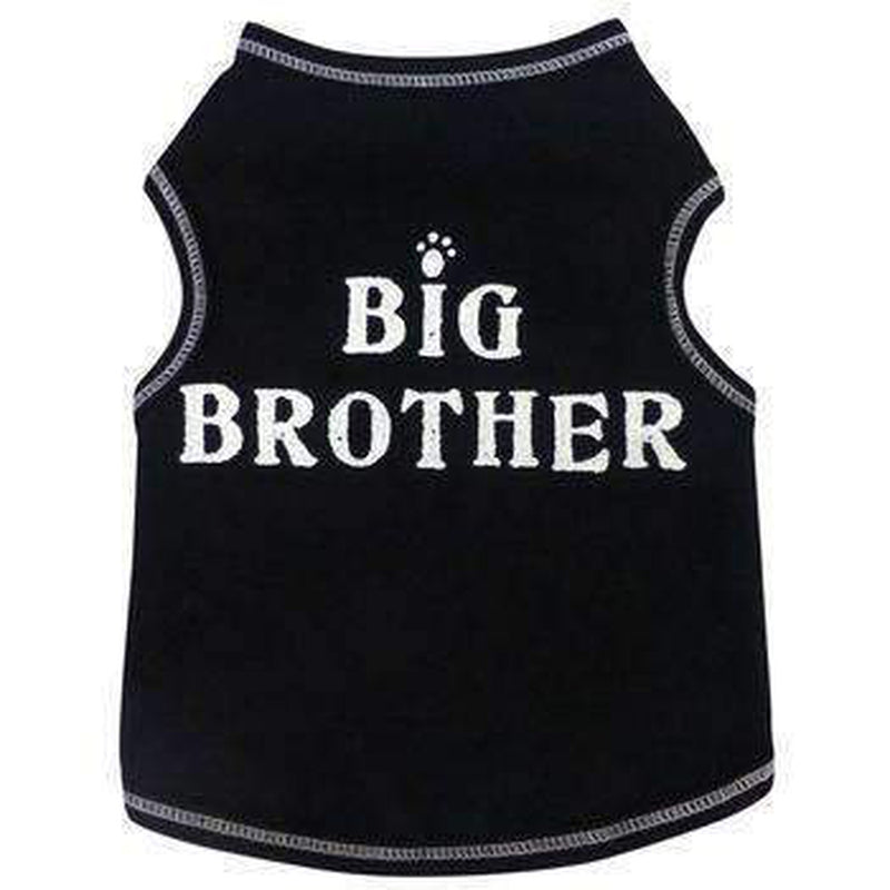 Big Brother Cotton Dog Tank Top, Pet Clothes, Furbabeez, [tag]