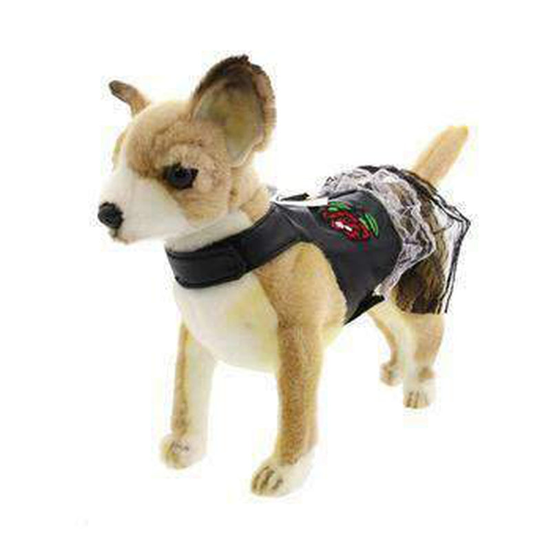 Biker Dress Dog Harness by Doggles, Collars and Leads, Furbabeez, [tag]