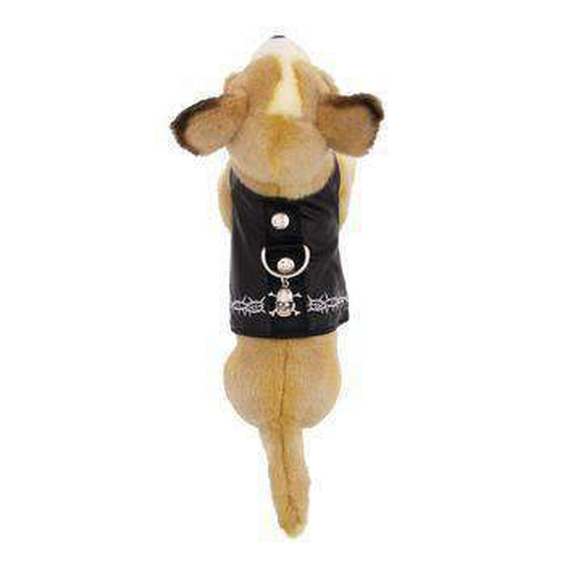 Biker Vest Dog Harness by Doggles, Collars and Leads, Furbabeez, [tag]