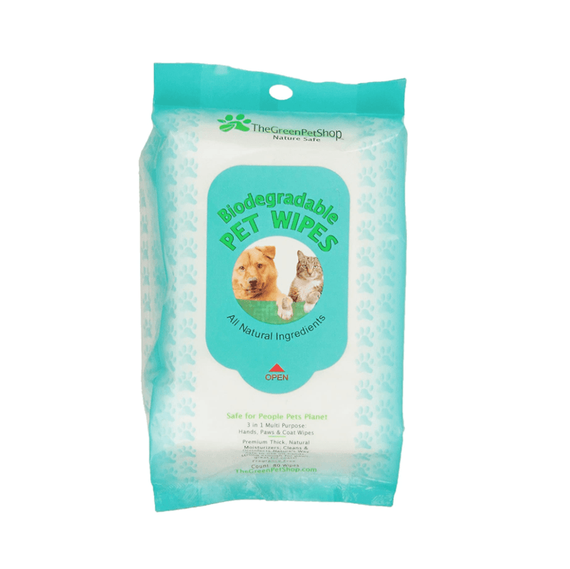Biodegradable Pet Wipes Pet Accessories Green Pet Shop
