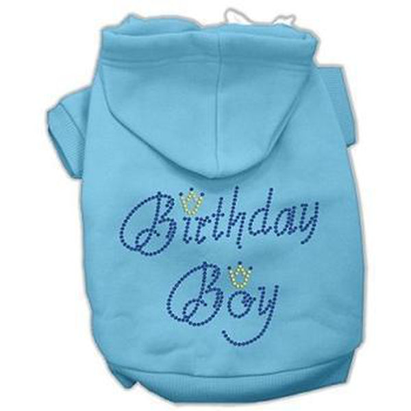 Birthday Boy Dog Hoodie - Blue, Pet Clothes, Furbabeez, [tag]