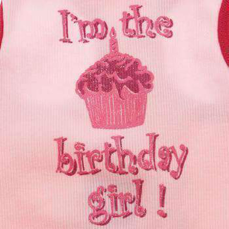 Birthday Girl Dog Tank Top - Pink, Pet Clothes, Furbabeez, [tag]