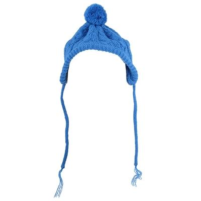 Blue Toboggan Wool Beanie Dog Hat Pet Accessories Worthy Dog